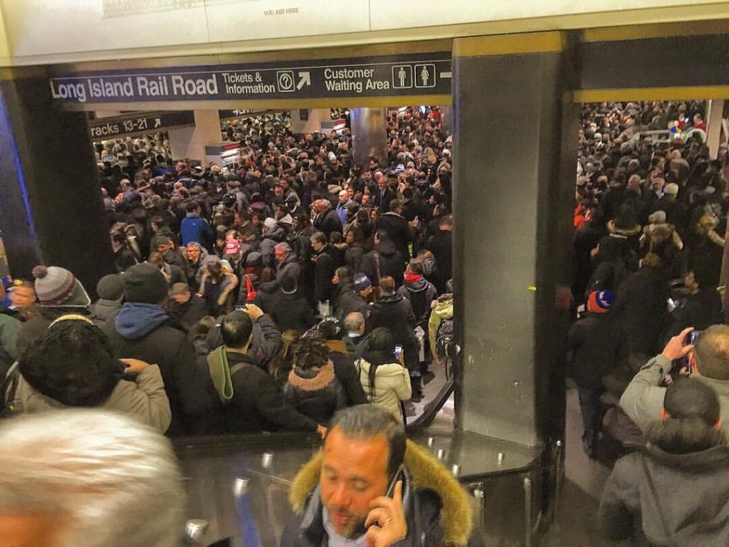 Penn Station LIRR Delays
